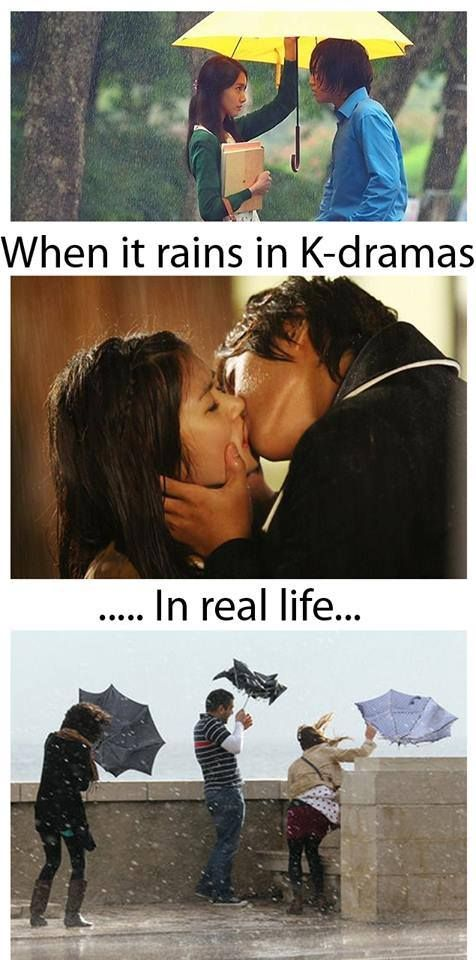Ảnh chế về những nghịch lý trong phim Hàn