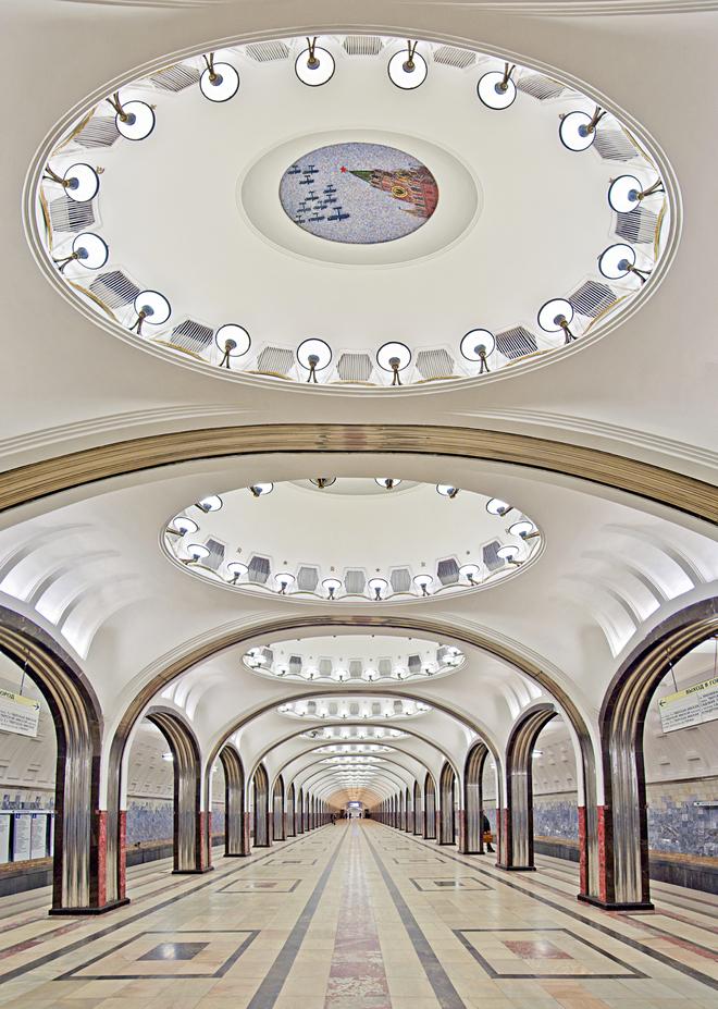 Những ga tàu đẹp mê ly níu giữ chân khách