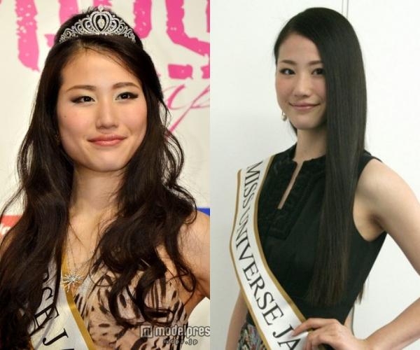 Giành vương miện Hoa hậu Hoàn vũ Nhật Bản 2014,Keiko Tsuji cũng nhận phải nhiều lời phàn nàn về nhan sắc thiếu nổi bật.