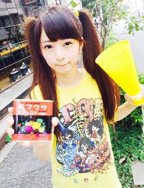 """Sugino Shizuka được dân mạng ca ngợi là """"thiên thần buộc tóc hai bên"""" hay """"Shizuka phiên bản người thật"""" (nhân vật được nhiều độc giả Việt biết đến với tên Xuka trong Doraemon)."""