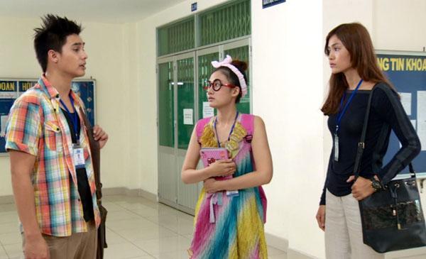 Trong phim, Baggio lần đầu kết hợp với quán quân Việt Nam next top model Mâu Thanh Thủy.