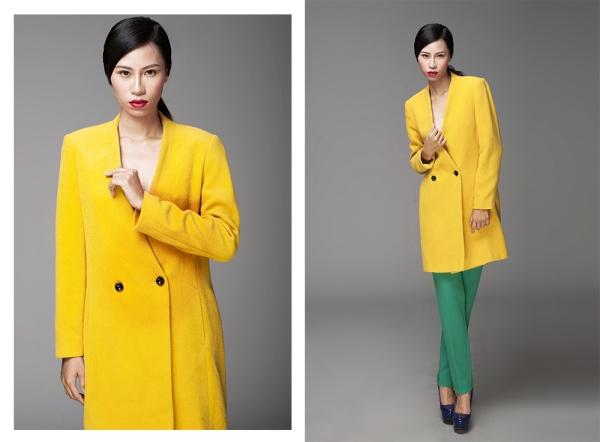 Gương mặt cá tính vàchiều cao 1,77mgiúp Yến Nhi lọt vô mắt của nhà thiết kếĐỗ Mạnh Cường.