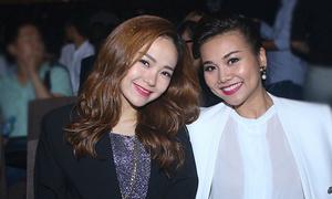 'Song Hằng' rạng rỡ đến chúc mừng live concert Hà Hồ