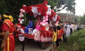 Những màn rước dâu độc nhất vô nhị chỉ có ở Việt Nam