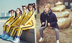 Sao Hàn 22/11: T-ara 'cưa sừng làm nghé', Hong Ki pose hình khó đỡ