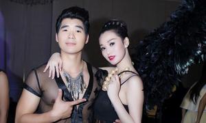 'Thiên thần đen' Khánh My quyến rũ bên Trương Nam Thành
