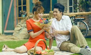 Tiến Đạt yêu cầu Hari Won thân mật với 'hot boy xứ Đài'