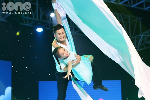 Quán quân Bước nhảy hoàn vũ nhí  Linh Hoa