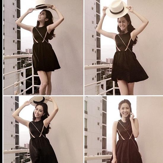 11. Không chỉ có nụ cười tỏa sáng thu hút, Aom còn được ngưỡng mộ với phong cách nữ tính và sành điệu.