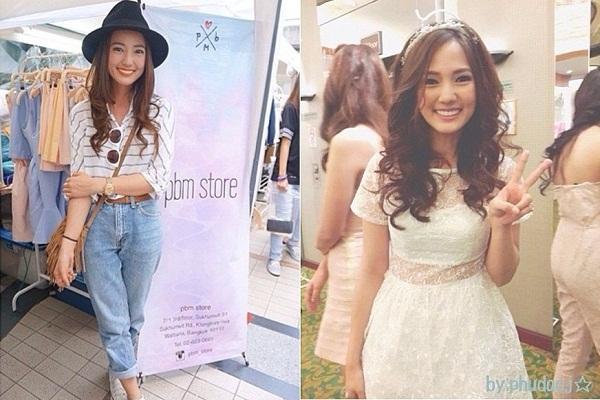 8. Mặc dù, mới nổi được vài năm trở lại đây, nhưng cô là một trong những nghệ sĩ có lượng fan khá hùng hậu không thua kém gì các diễn viên nổi tiếng của làng giải trí Thái Lan.