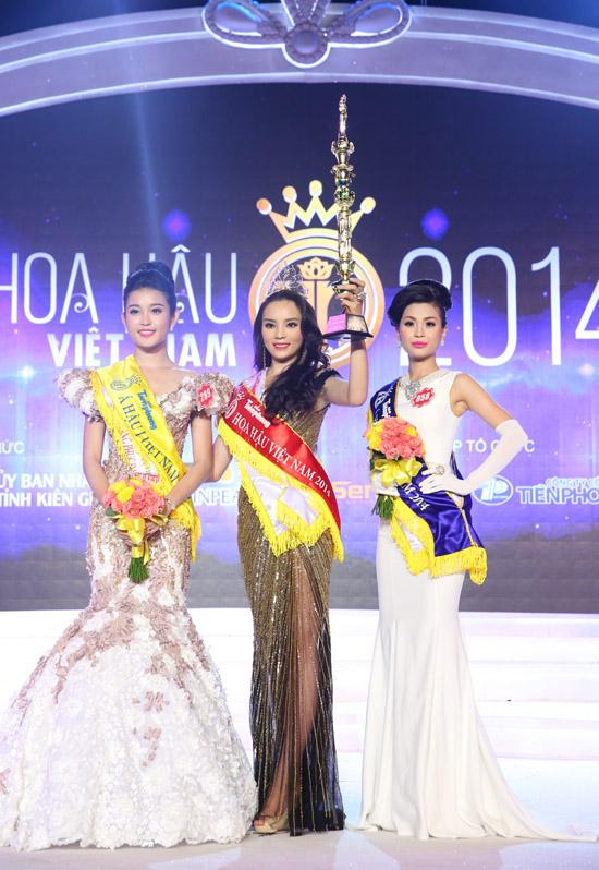 Á hậu 1 thuộc về Nguyễn Trần Huyền My. Á hậu 2 là Nguyễn Lâm Diễm Trang. Cả 3 thí sinh này đều được đánh giá cao từ đầu mùa giải.