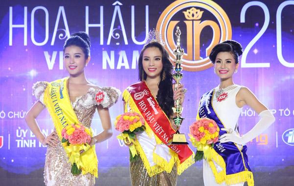 Ngoài ngôi vị Hoa hậu Việt Nam 2014, Nguyễn Cao Kỳ Duyên còn giành danh hiệu Người đẹp biển.
