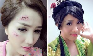 Sao Việt 16/12: Bảo Thy bị đánh bầm mặt, Trấn Thành 'chuyển giới'
