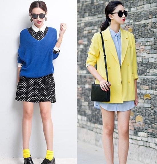 Ở hot blogger này, bạn có thể thấy những phong cách đối lập vừa mạnh mẽ, vừa lãng mạn nhưng luôn có điểm chung là sự khác lạ ít đi theo các phom dáng quen thuộc.