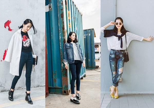 Ngoài việc đảm đương công việc style, cô nàng tài năng và xinh đẹp này còn sở hữu một số shop thời trang online thu hút khá đông bạn trẻ.