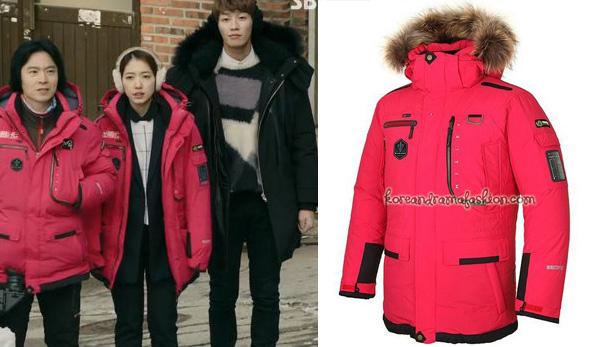 Park Shin Hye phải chi đến 14,5 triệu đồng để sắm về áo phao đính lông ấm áp của hãng