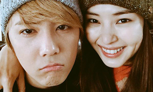 Sao Hàn 17/12: Hoa hậu Hàn tươi rói bên Lee Hong Ki bí xị