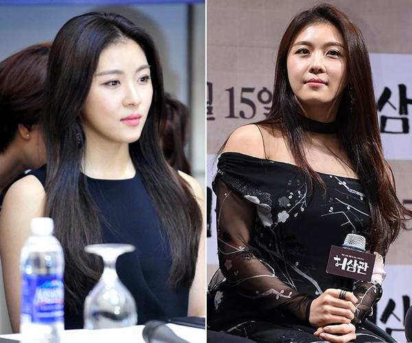 Loạt mỹ nữ Hàn xuống sắc thấy rõ vì tăng cân