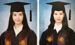 Yoon Ah, Seo Hyun khoe ảnh tốt nghiệp xinh như thiên thần