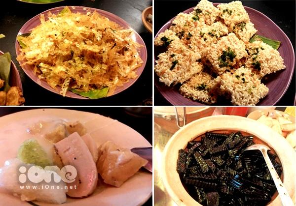 Cùng một địa điểm, buffet ăn vặt cho phép teen thoả thích đãi bụng với 25  30 món ăn khắp 3 miền đất nước.