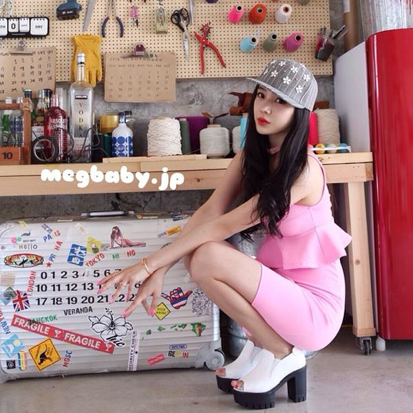 Có lời đồn Megbaby vốn là người mẫu tên Masamegu của tạp chí thời giang EGG, từng phẫu thuật thẩm mỹ và đi du học Hàn Quốc một thời gian, xì-tai đậm chất Hàn của Megbaby cũng được hình thành khi du học.