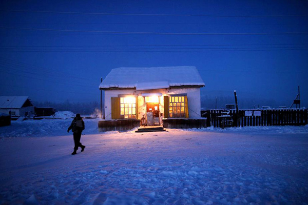 Dân làng được cung cấp mọi thứ cần thiết từ cửa hàng duy nhất này.