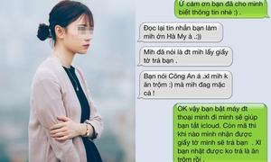 Thiếu nữ tìm lại được iPhone 5S sau khi bị 'trộm' đòi pass