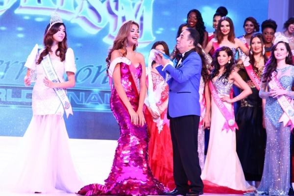 Hoa hậu Du lịch Quốc tế 2015 thuộc về thí sinhFaddya Ysabel Halabi Troisiđến từ Venezuela.