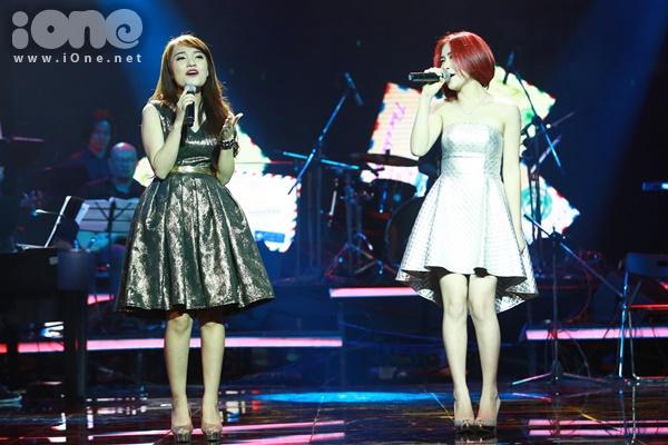 Nhật Thủy và Hòa Minzy ngẫu hứng trong bản Hit