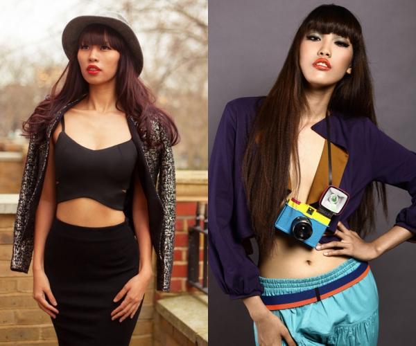 Thời mới bắt đầu làm mẫu, ngoại hình của Lan Khuê được nhận xét khá giống siêu mẫu Hà Anh, đặc biệt là mái tóc ngố và đôi môi sexy.