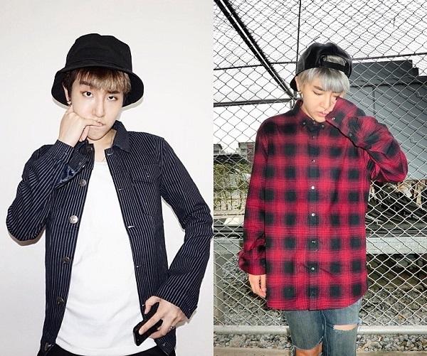 Qwaa rất thích nhóm nhạc Big Bang, đặc biệt là trưởng nhóm Gdragon, đó là lý do khiến cô nàng rất hay xuất hiện với phong cách hầm hố áo sơ mi kẻ dáng dài kết hợp cùng quần jeans rách sành điệu.