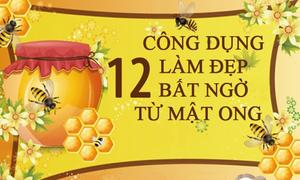 12 mẹo làm đẹp cực dễ mà hiệu quả từ mật ong