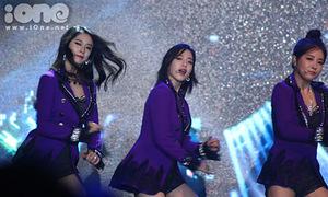 Minishow T-ara mất điểm vì âm thanh quá tệ