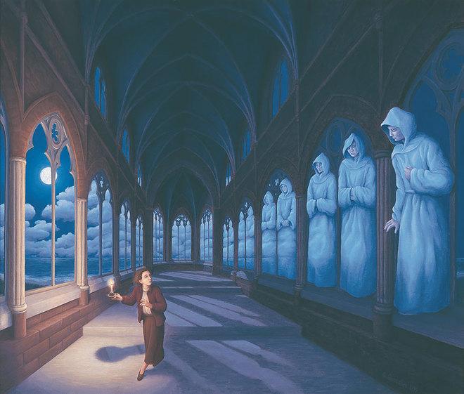 magic realism paintings rob gonsalves 10 1421729846 660x0 Hoa mắt với loạt tranh ma thuật đánh lừa thị giác
