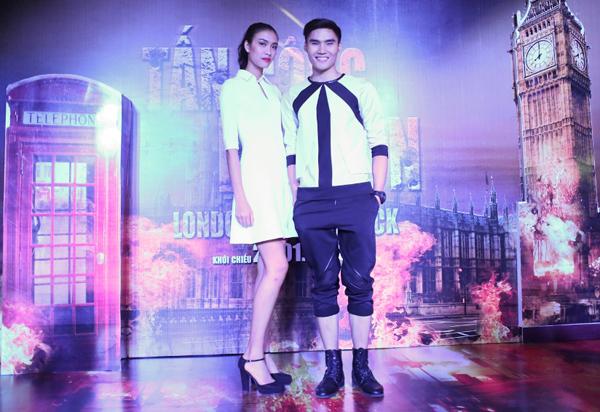 Tối 20/1, Sau chung kết của Vietnams Next Top Model 2014, lần đầu tiên hai Quán quân cùng với ba Á quân cùng xuất hiện trong cùng một sự kiện ra mắt phim
