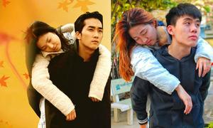 Bạn trẻ Hà Nội 'nhái' poster phim Hàn vừa hài vừa chất