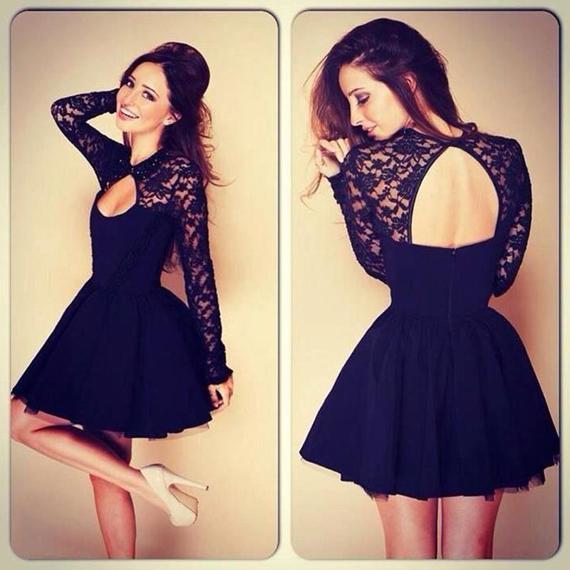 Short-Little-Black-Lace-Dresse-7090-1157