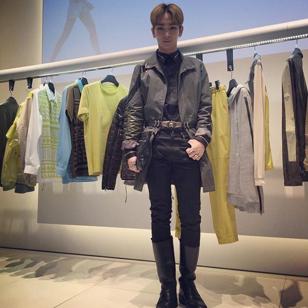 Key (SHINee) thể hiện phong cách thời trang