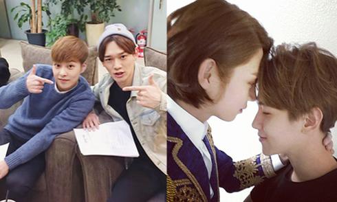 Sao Hàn 30/1: Hee Chul 'tình tứ' với Baek Hyun, Se Hun giận dỗi trẻ con