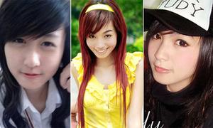 Những màn 'thay da đổi thịt' vượt thời gian của hot girl Việt