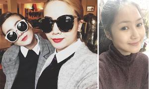Sao Việt 9/2: Hương Tràm trước - sau 'phẫu thuật', chị em Song Yến khoe kính khủng