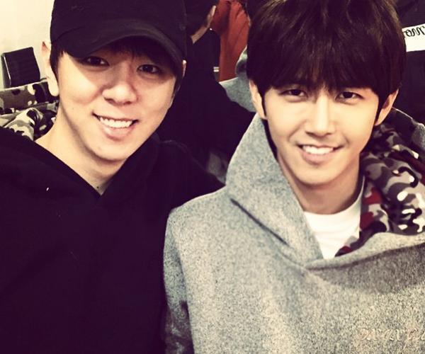 Kwang Hee (ZE:A) chúc mừng sinh nhật người anh em cùng nhóm Jun Young.