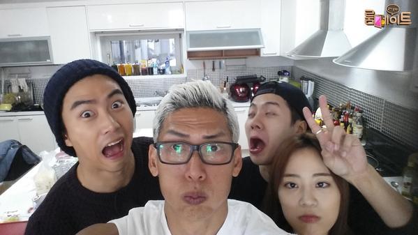 Taec Yeon (2PM) đến làm khách Roommate, nhí nhố chụp ảnh tự sướng cùng Joon Park (G.O.D),