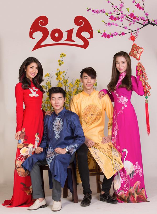 Stylist: Ti Ak Photographer: Spirit Tuấn Nguyễn Make up: Tái Hưng Model: Nam Hee, Phương Linh, Hạ Anh, Cerri Kop Fashion: áo dài Minh Châu