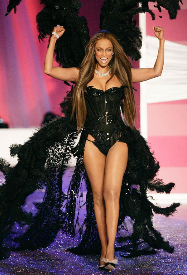 Definitely one of the most successful former Victorias Secret Angels, Tyra Banks was one of the original 5, and she continued to model lingerie for the company until 2005. Tyras TV career already makes her a huge brand, but shes also a successful author, with two books under her belt, and an actress, with more than 10 movie appearances.