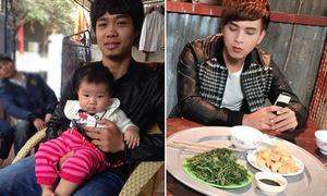 Sao Việt 28/2: Công Phượng bế 'con' cực chuẩn, Hồ Quang Hiếu chờ tin khuyến mại