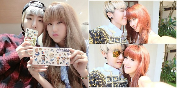 Qwaa Phunnutta và Donut đến nay đã ở bên nhau được gần 6 năm, chuyện tình của cặp đôi này thu hút sự chú ý của cư dân mạng Thái Lan. Qwaa là nàng tomboy 25 tuổi, nổi tiếng nhờ sở hữu gương mặt và phong cách giống hệt trưởng nhóm Big Bang G-Dragon. Trong khi đó, cô bạn gái Donut lại thu hút bởi vẻ ngoài trong sáng và đáng yêu như người Hàn.