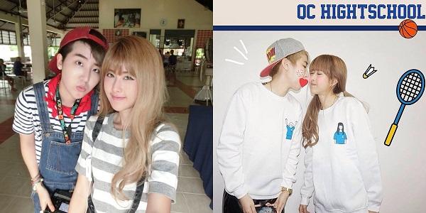 Công việc chính của Qwaa là ca sĩ, nên ngoài việc thường xuyên xuất hiện trên các sân khấu ca nhạc, Qwaa và bạn gái còn được nhiều nhiếp ảnh gia mời làm người mẫu. Cặp đôi này có phong cách thời trang cực sành điệu, đậm chất Hàn Quốc.