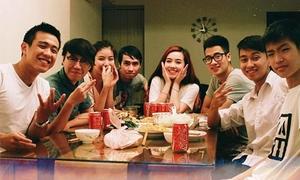 An Nguy, Phở, JV tự quay video 'độc' mừng sinh nhật HuyMe