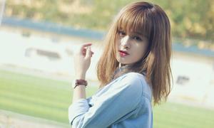 Hot girl cover Kiều Phạm 'xinh lạ' đầu năm mới